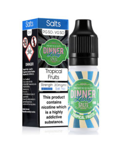 Dinner Lady Salts - Tropical Fruits Nicotine Salts 20mg