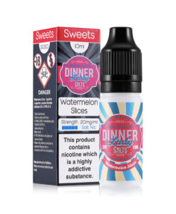 Dinner Lady Salts - Watermelon Slices 20mg