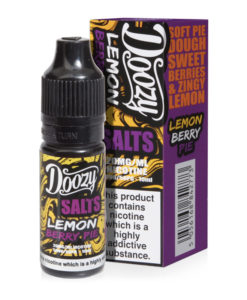 Doozy Salts - Lemon Berry Pie 20mg Nic Salt