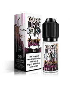Double Drip 5050 - Cherry Bakewell 10ml