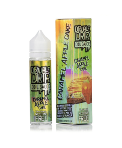 Double Drip - Caramel Apple Cake 50ml Short Fill
