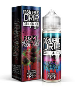 Double Drip - Fizzy Cherry Cola Bottles 50ml Short Fill