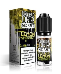 Double Drip - Lemon Sherbet Nic Salt 20mg