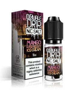 Double Drip - Mango Raspberry Ice Cream Nic Salt 20mg