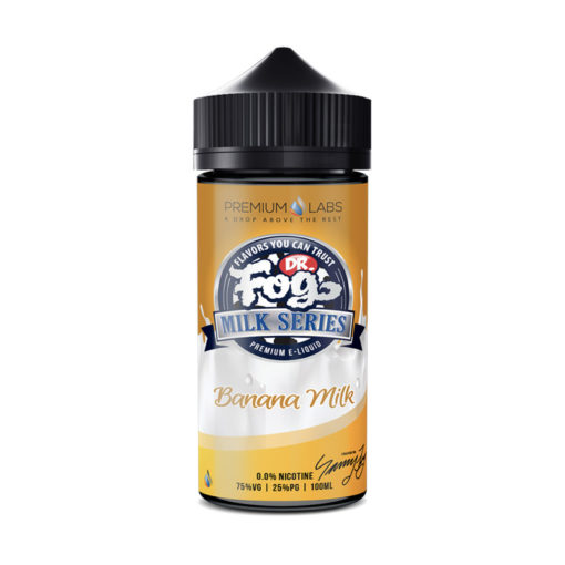 Dr Fog Milk Series - Banana Milk 100ml Short Fill