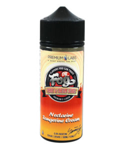 Dr Fog - Nectarine Tangerine Cream 100ml Short Fill