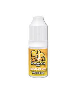 Drip Shotz - Custard-Hit 18mg Flavoured Nic Salt Shot