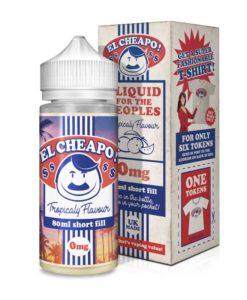 El Cheapo - Tropicaly 80ml Short Fill