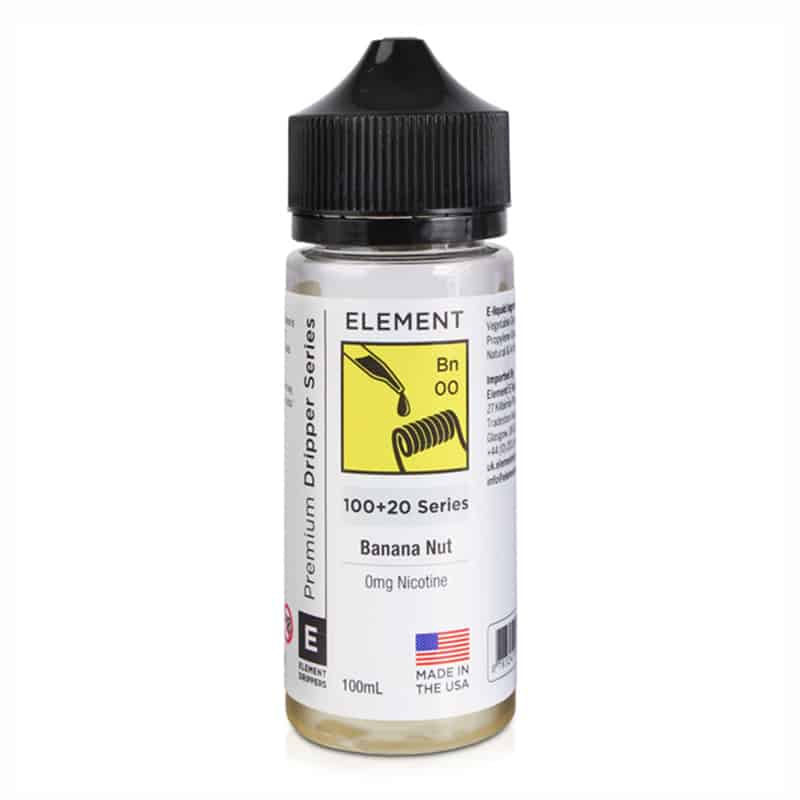 Element - Banana Nut 100ml Short Fill