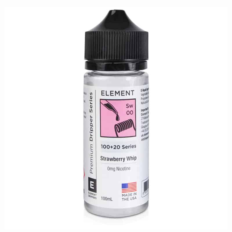Element - Strawberry Whip 100ml Short Fill