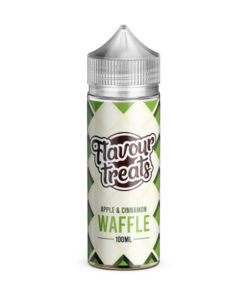 Flavour Treats - Apple & Cinnamon Waffle 100ml E-Liquid