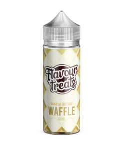 Flavour Treats - Vanilla Custard Waffle 100ml E-Liquid