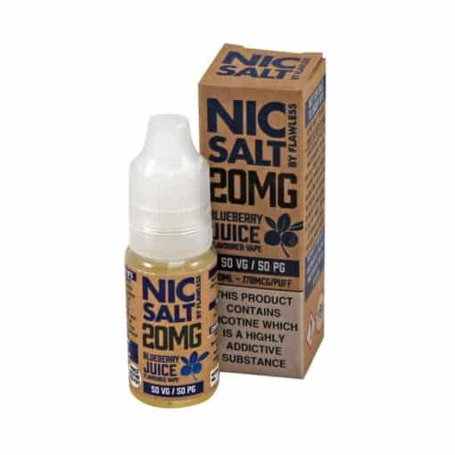 Flawless Nic Salt - Blueberry Juice 20mg