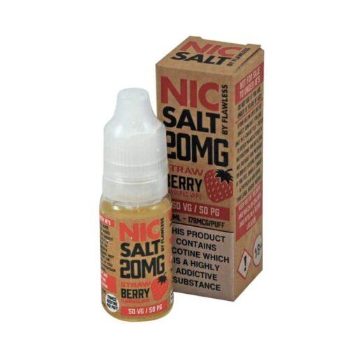Flawless Nic Salt - Strawberry Nic Salt 20mg