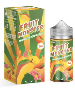 Fruit Monster - Mango Peach Guava 100ml Eliquid Short Fill