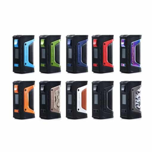 GeekVape Aegis Legend Box Mod Colour Chart