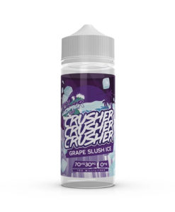 Crusher - Grape Slush Ice 100ml 0mg Short Fill