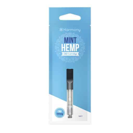 Harmony Mint Hemp CBD Cartridge 100mg