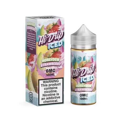 Honeydew Strawberry Iced by Hi Drip