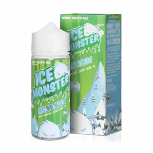 Ice Monster Melon Colada 100ml 0mg Short Fill