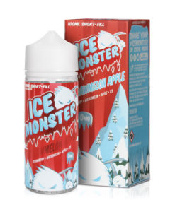 Ice Monster - Strawmelon Apple 100ml Short Fill