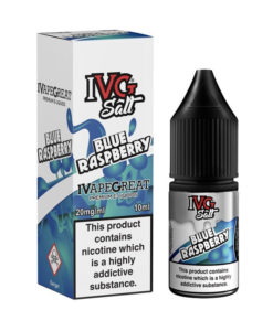 Blue Raspberry Nic Salt by IVG Salts
