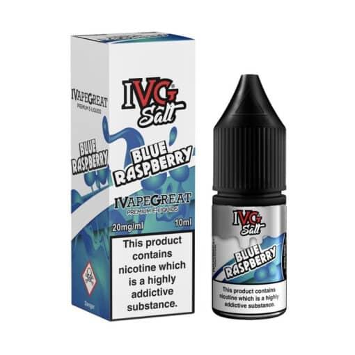 I VG - Blue Raspberry Nic Salt 10ml 20mg
