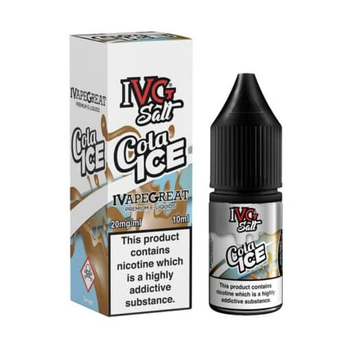 I VG - Cola Ice Nic Salt 10ml 20mg