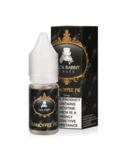 Jack Rabbit Salts - Banoffee Pie 10ml 20mg