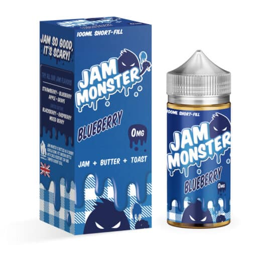 Jam Monster - Blueberry Jam 100ml Eliquid