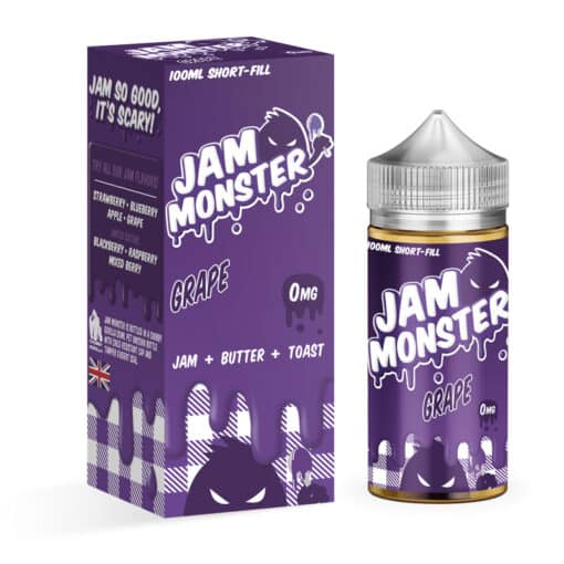 Jam Monster - Grape Jam 100ml Eliquid