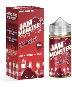 Jam Monster - Strawberry Jam 100ml Eliquid