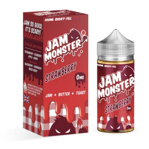 Jam Monster - Strawberry Jam 100ml Eliquid