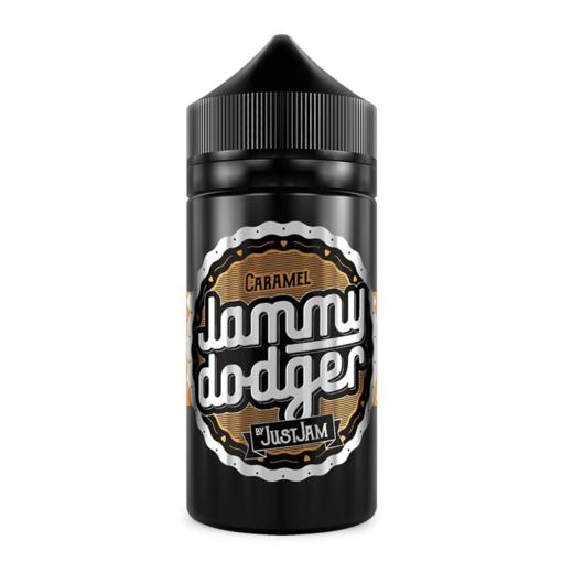 Jammy Dodger - Caramel 80ml Short Fill