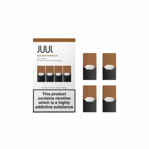 Golden Tobacco Juul Pods