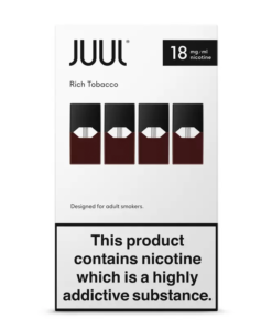 JUUL - Rich Tobacco 18mg Pods