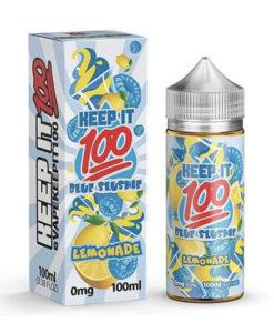 Keep It 100 - Blue Slushie Lemonade 100ml Short Fill