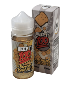 Keep It 100 - Krunchy Squares 100ml Short Fill