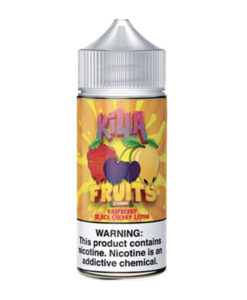 Killa Fruits - Raspberry Black Cherry Lemon 100ml Eliquid