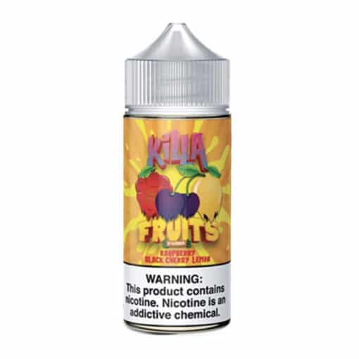 Killa Fruits - Raspberry Black Cherry Lemon 100ml Eliquid
