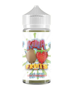 Killa Fruits - Kiwi Strawberry on Ice 100ml Short Fill