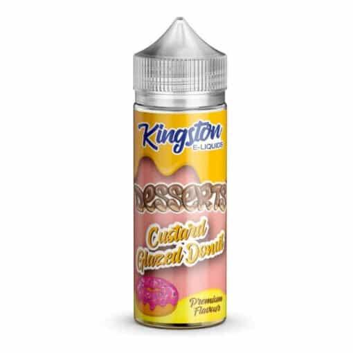Kingston - Custard Glazed Donut 100ml 0mg Short Fill