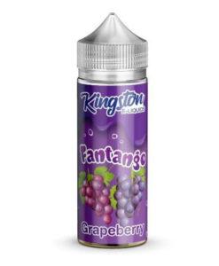 Kingston - Fantango Grapeberry 100ml 0mg Short Fill