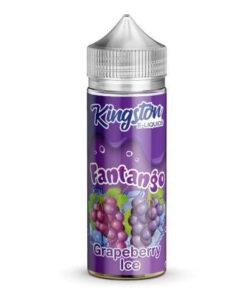 Kingston - Fantango Grapeberry Ice 100ml 0mg Short Fill