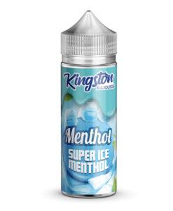 Kingston E-Liquids - Super Ice Menthol 100ml Eliquid