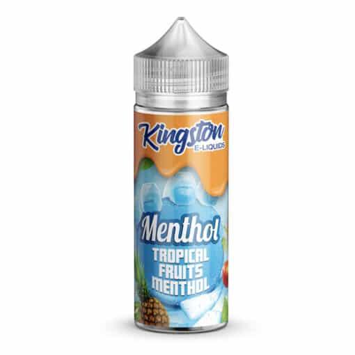 Kingston E-Liquids - Tropical Fruits Menthol 100ml Eliquid