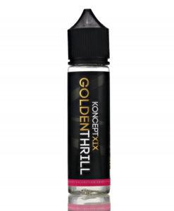 Koncept XIX - Golden Thrill 50ml E-Liquid Short Fill