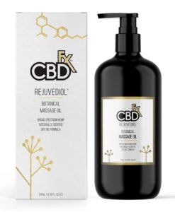 CBDfx - Rejuvediol Massage Oil