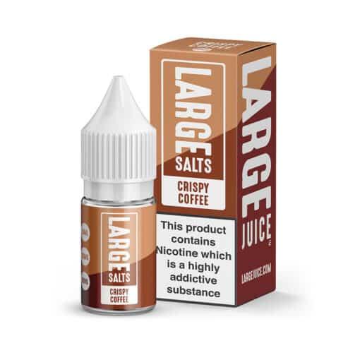 Large Salts - Crispy Coffee 10ml 20mg Nicotine Salt