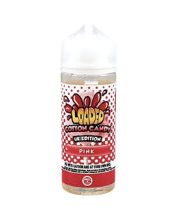 Loaded - Pink Cotton Candy 100ml 0mg Short Fill